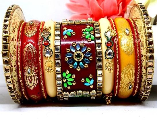 Traditional Rajasthani Bridal Bangles