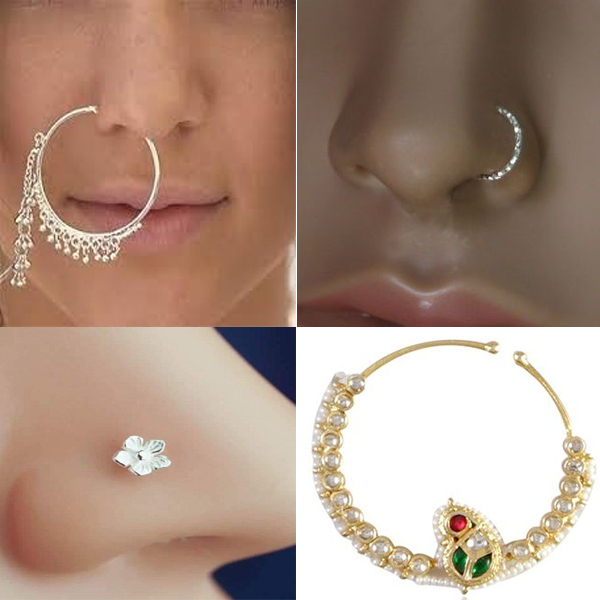 Silver Nose Ring