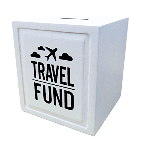 Travel Fund Piggy Bank