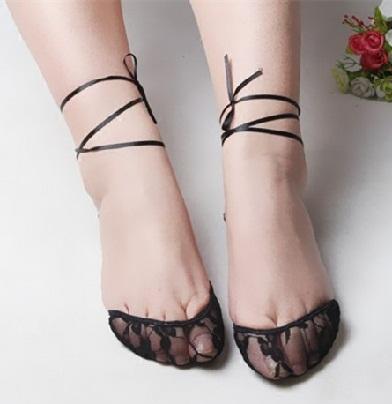 Ultra Thin Lace Sexy Socks