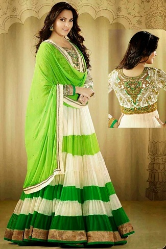 71ece750b92 15 Traditional and Stylish Indian Frocks for Women in 2019 | Styles ...