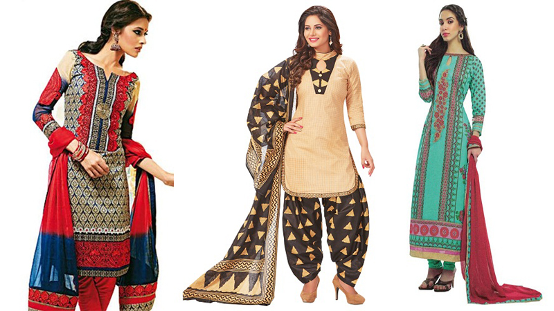 2be102a506 Unstitched Salwar Suits - Get A Custom Outfit With These 10 Designs