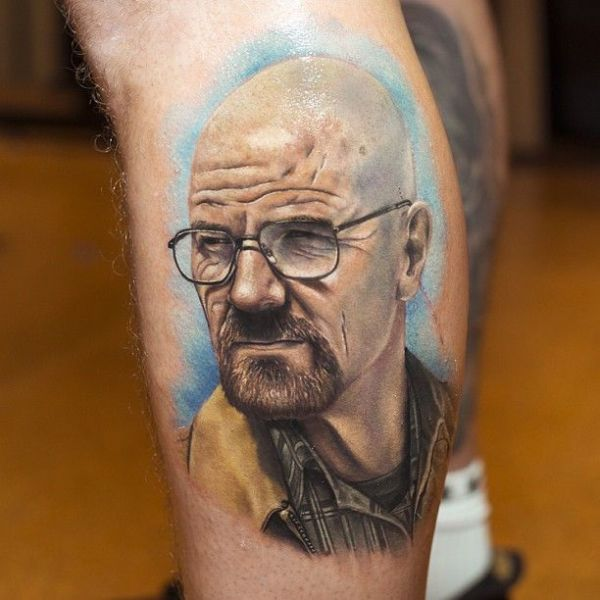 Utterly Unique Portrait Tattoos
