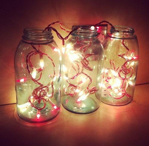 Valentine's Light Jar