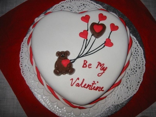 Valentines Cake Proposal Gift