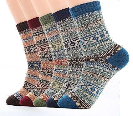 Vintage Style Wool Socks for Boys