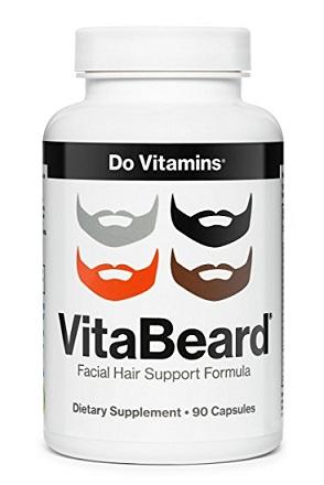 Vita Beard Facial Hair Support Formula