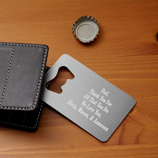 Wallet Bottle Opener