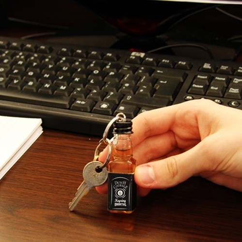 Whiskey Key Chain