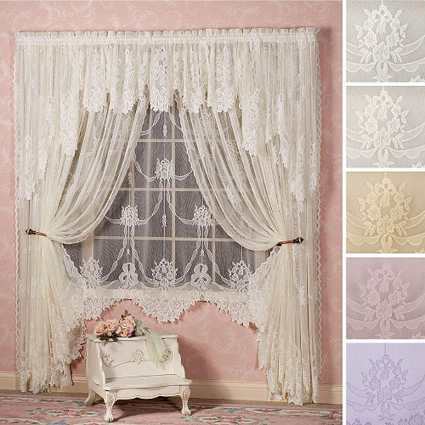 Lace Curtain Designs