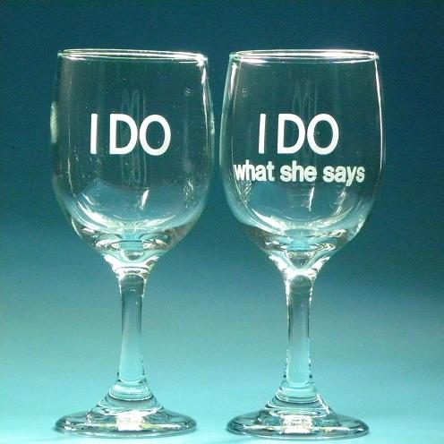 Wine Glasses for Valentine's Gift