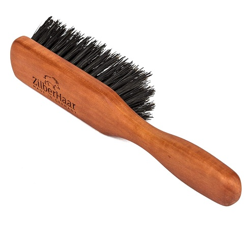 Zilber Beard Brush with Soft Bristles