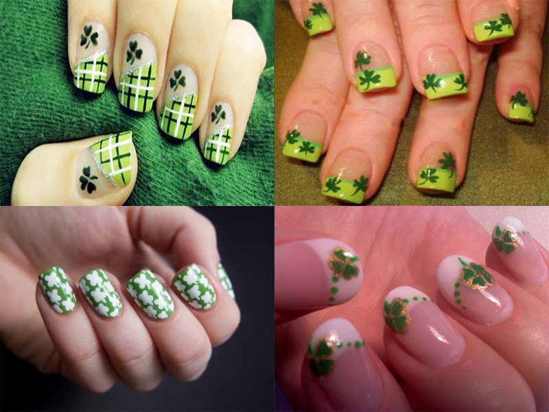 best shamrock nail art designs