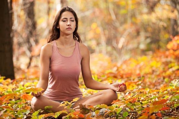 Seated Meditation om yoga