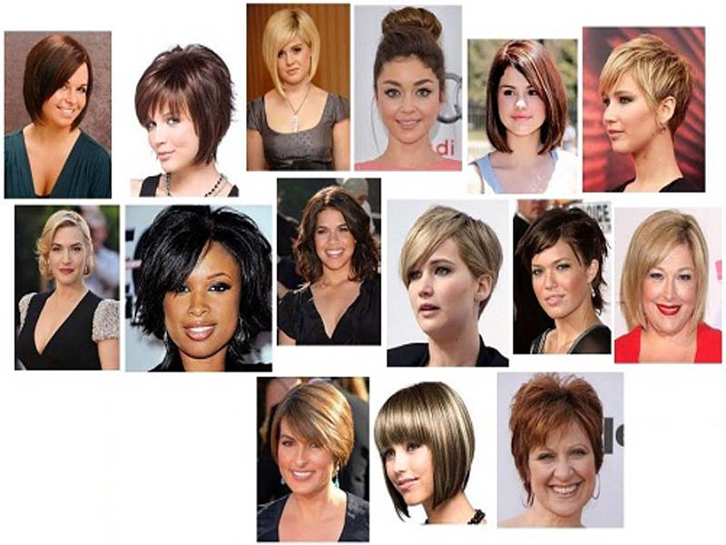 9 Latest Short Hairstyles For Women With Fat Faces