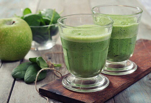Vegetable Juice For Weight Loss - Spinach Juice