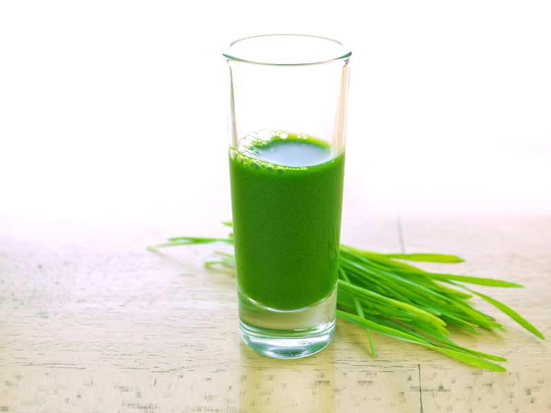 uses of wheatgrass juice