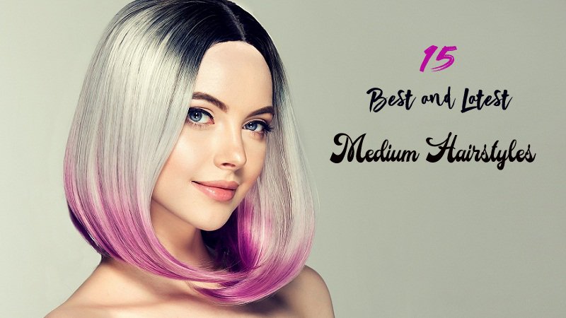Latest medium Hairstyles