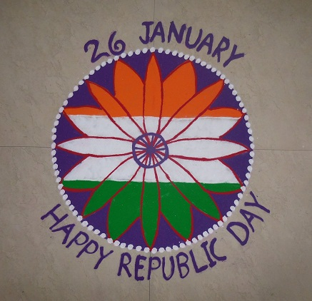 9 Best Republic Day Rangoli Designs With Pictures Styles At Life