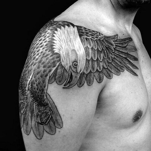 10fd771c0 20 Trending Eagle Tattoo Designs With Images Get Inked And Fly High