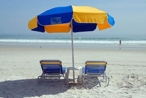 8 Feet Durable Beach Umbrella