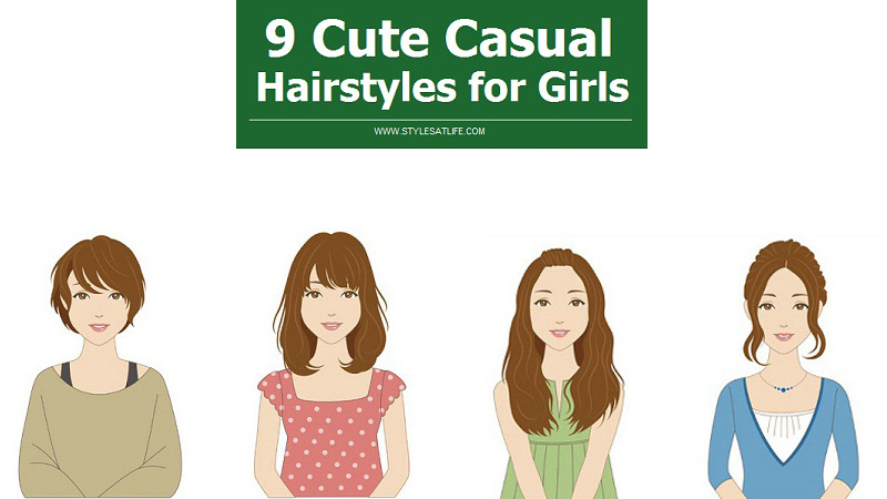 Cute Casual Hairstyles