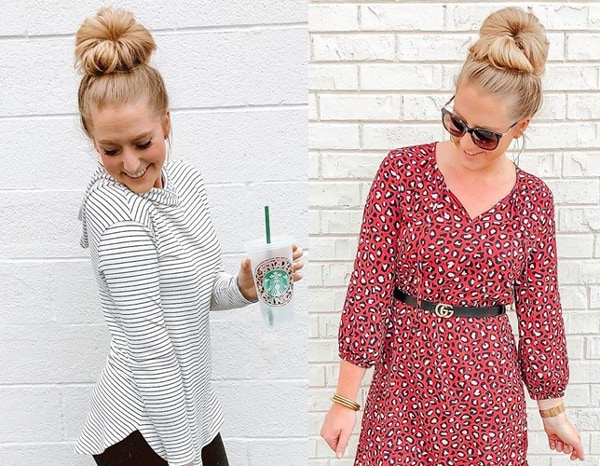 The French Knot Blonde Hairstyles