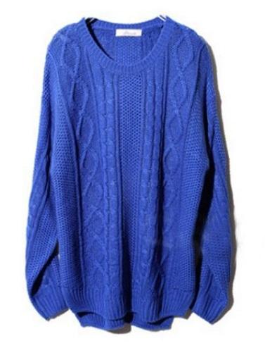 Acrylic Long Sweater