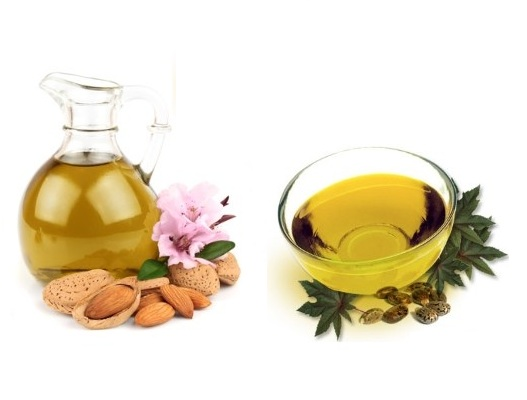 Almond Oil With Castor Oil