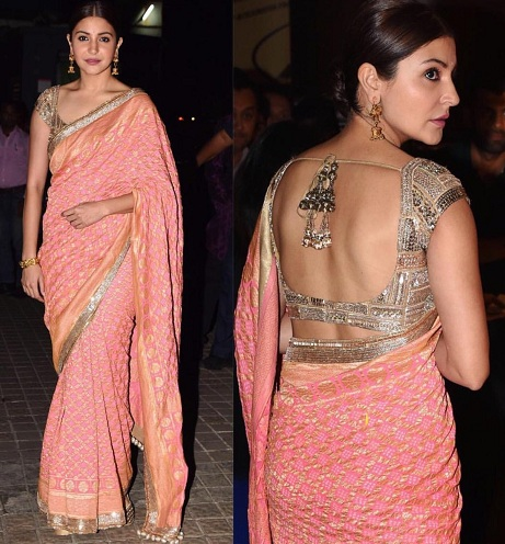 Gorgeous Anushka Sharma In Saree With Images Latest And