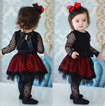 Baby Frock with Back Bow