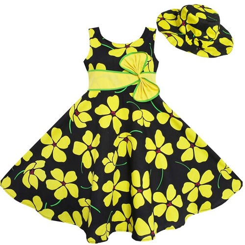 Baby Frock with Cap