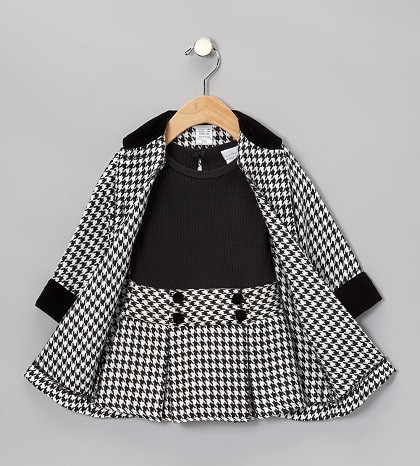 Baby Frock with Coat