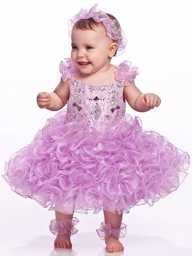 Ball Gown Baby Frock