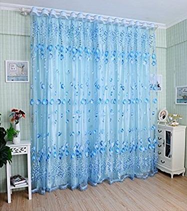 Balloon Print Curtain Design