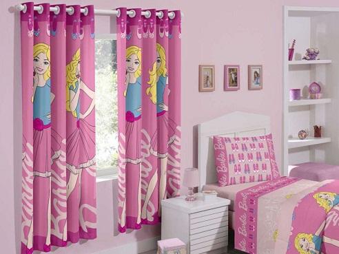 Barbie Girl Curtain Pattern
