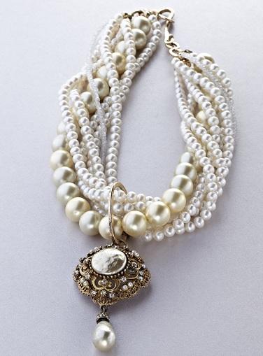 Baroque Pearl Choker