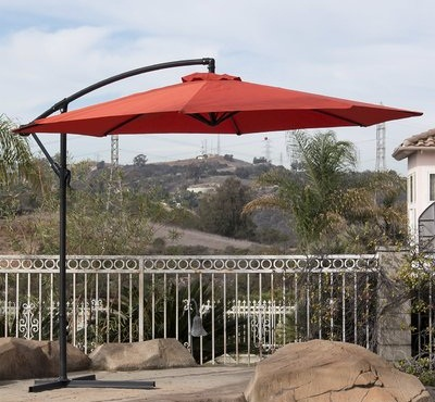 Beautiful Designer Orange Patio Umbrellas