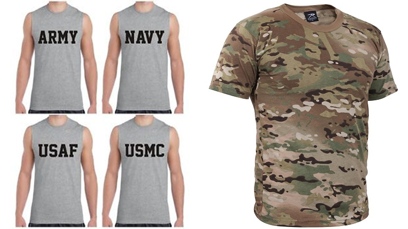 Best Army, Navy, Air Force T Shirts In Indian and Us Style