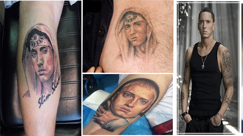 Eminem Tattoo Designs