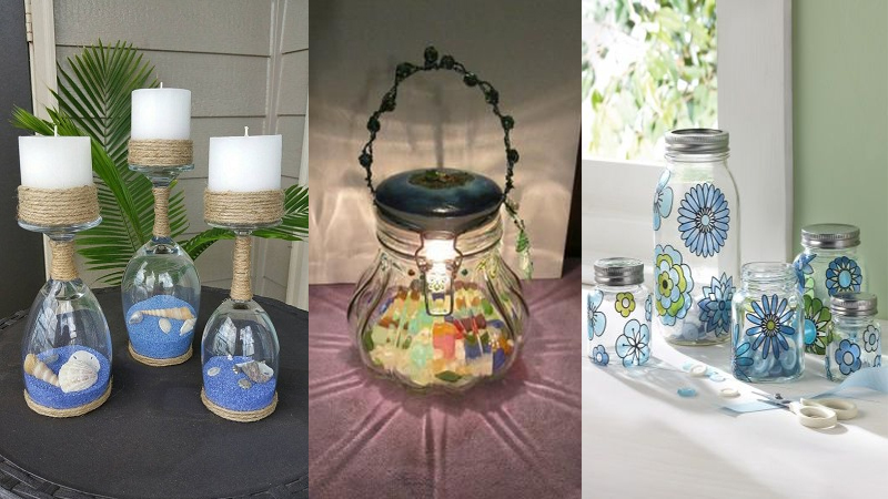 9 Best Glass Bottle Craft Ideas To Make Your Home Beautiful Styles