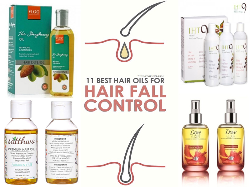 18 Best Hair Oils For Hair Fall Control In India 2019 Styles At Life