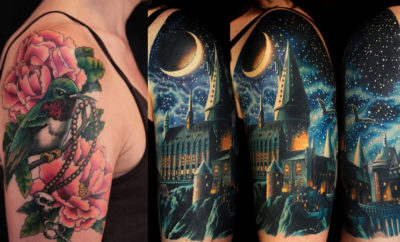 84ed86bc0eb65 15 Best Half Sleeve Tattoo Designs for Men and Women