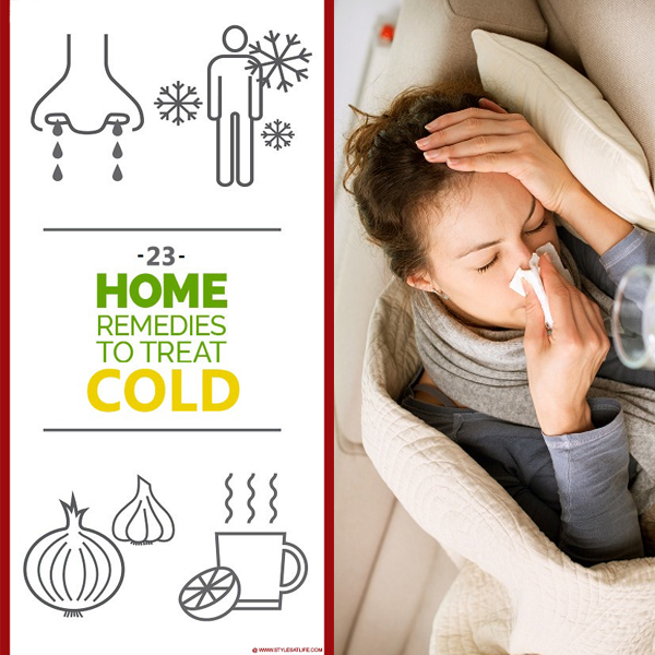 Best Home Remedies For Cold Treatment