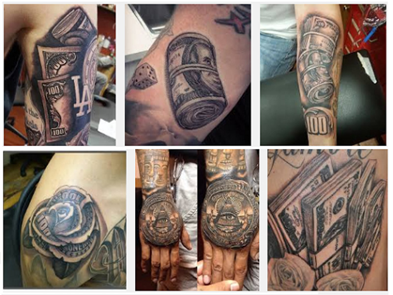 12 Latest And Beautiful Money Tattoo Designs Styles At Life
