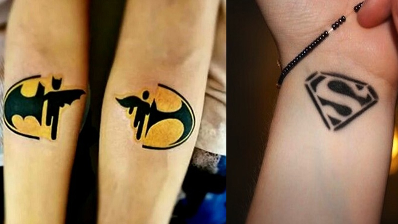 Best Superhero Tattoos With Temporary Designs and ideas
