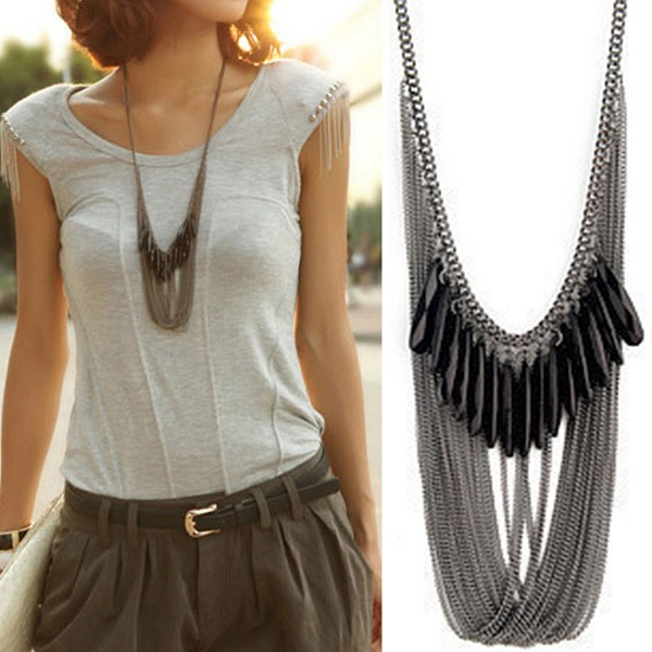 Black Necklaces For Women