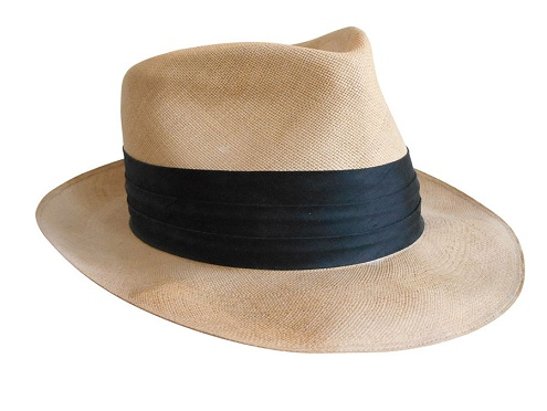 Black Banded Beach Hats