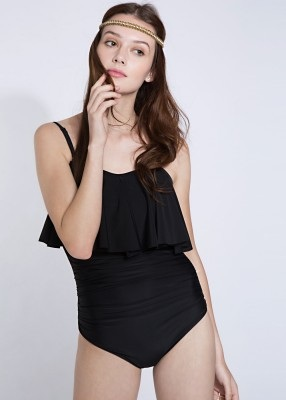 Black Flutter Swimsuit