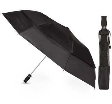 Black Folding Umbrellas